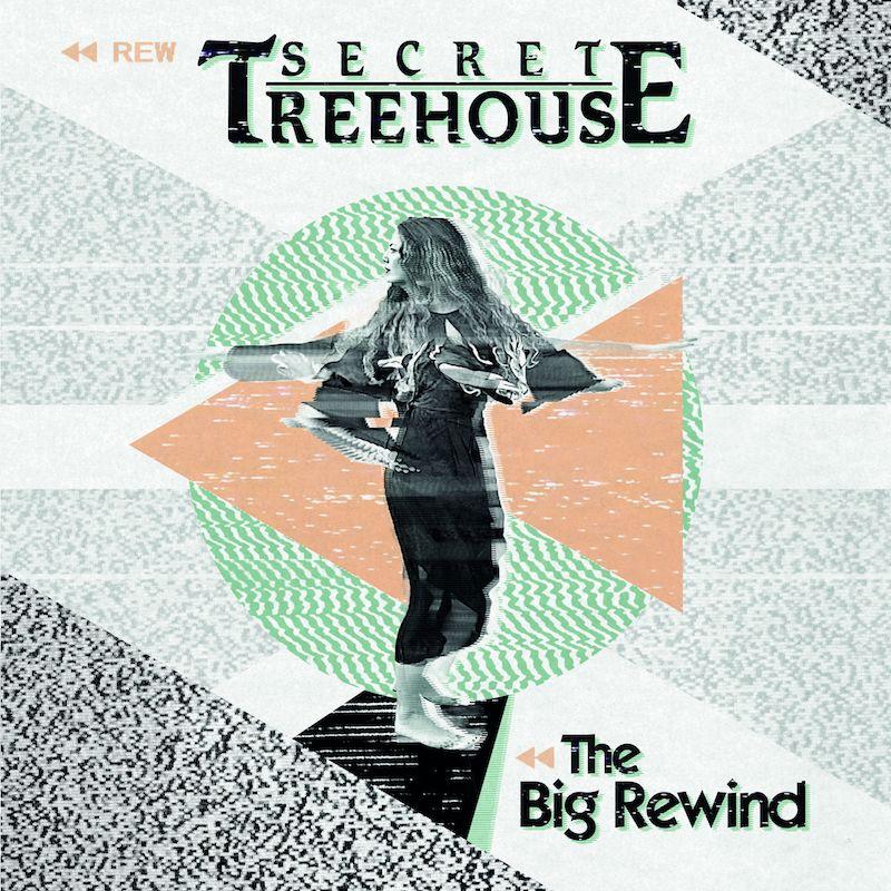 "Secret Treehouse – ""The Big Rewind"" artwork"