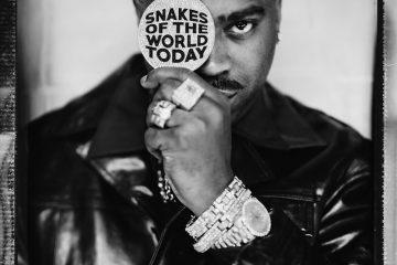 "Slick Rick – ""Snakes of the World Today"" artwork"