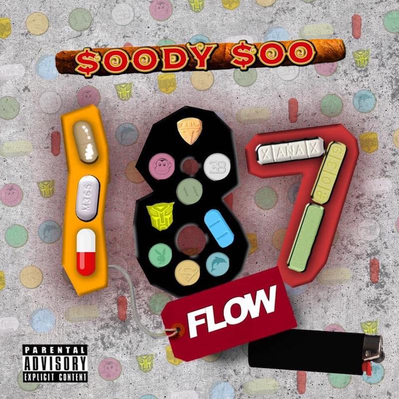 """Soody Soo – """"187 Flow"""" artwork"""