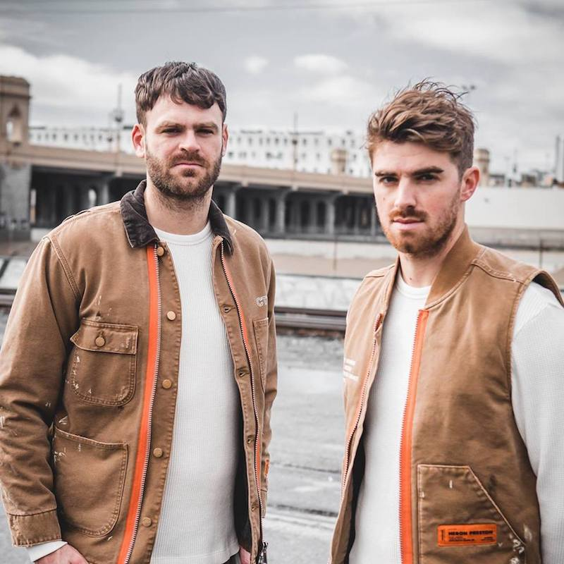 The Chainsmokers press photo
