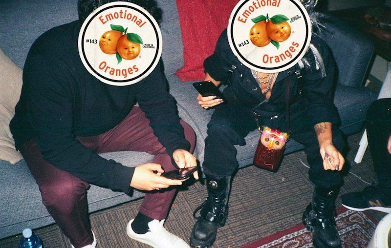 emotional oranges press photo