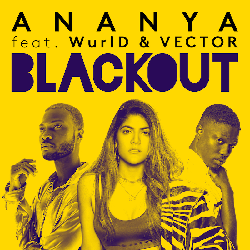 "Ananya Birla – ""Blackout"" artwork"