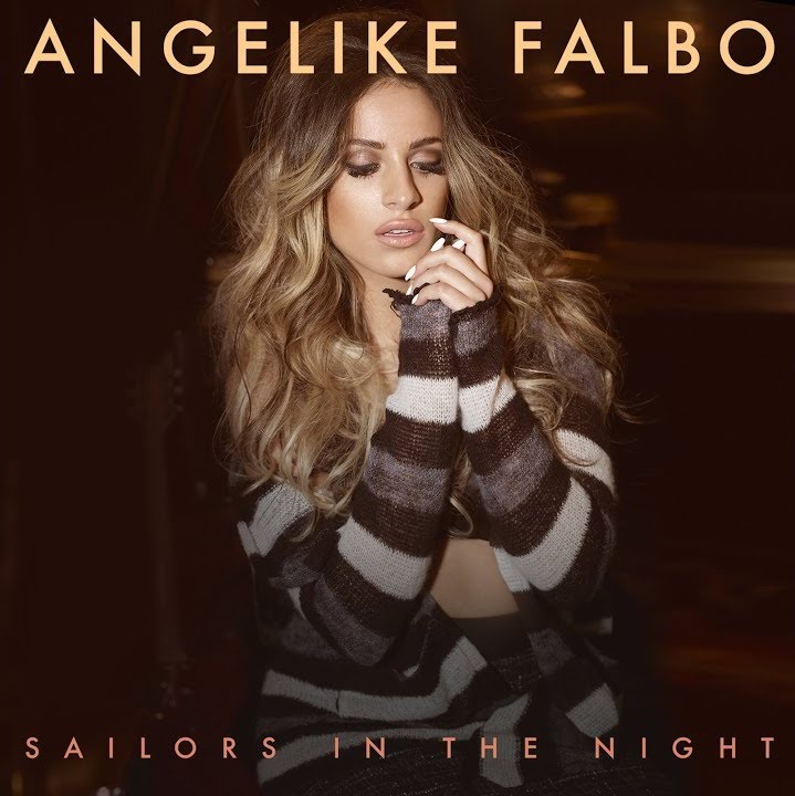 """Angelike Falbo – """"Sailors in the Night"""" cover"""