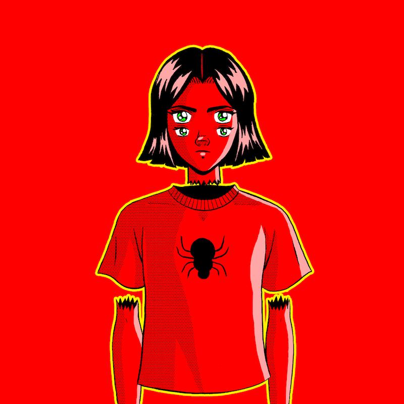 """Bene – """"Evil Spider"""" artwork"""