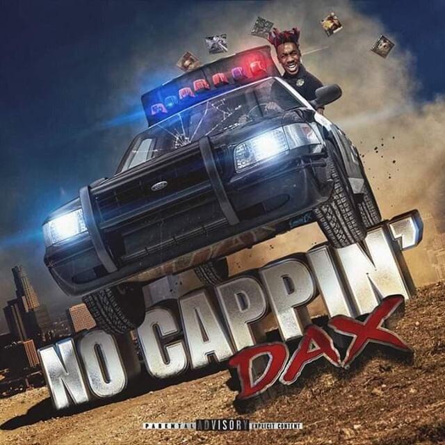 "Dax – ""No Cappin"" artwork"