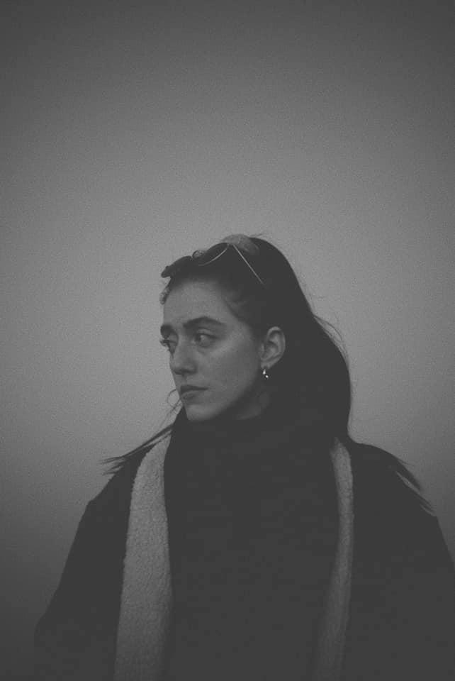 Elina press photo black and white
