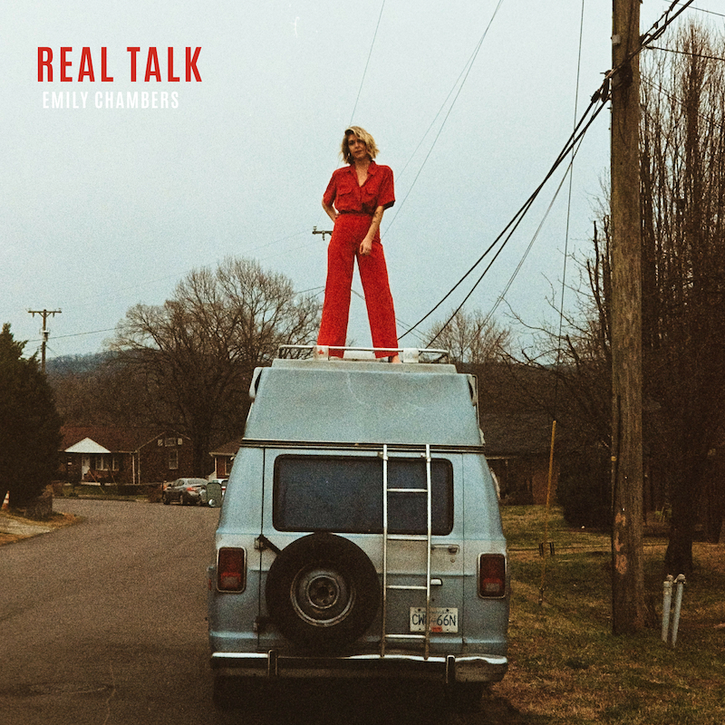 "Emily Chambers – ""Real Talk"" artwork"