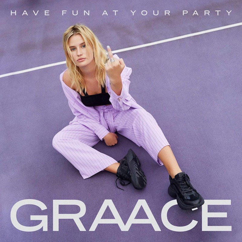 "GRAACE – ""Have Fun at Your Party"" artwork"