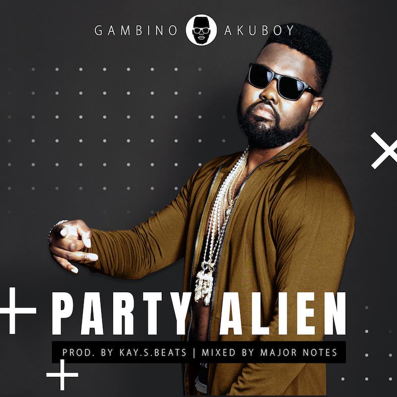 Gambino Akuboy - Party Alien_Artwork