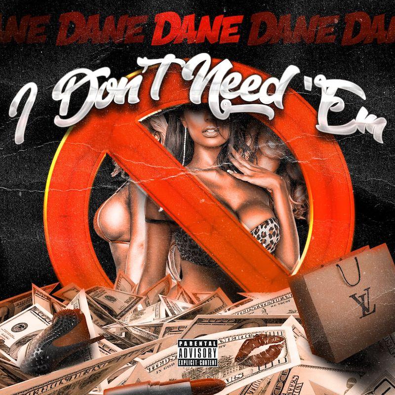 "Im Just Dane - ""I Don't Need'em"" artwork"
