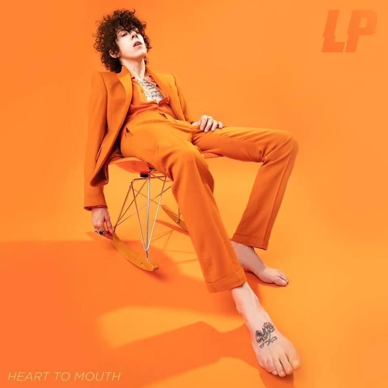 "LP – ""Heart to Mouth"" album cover"