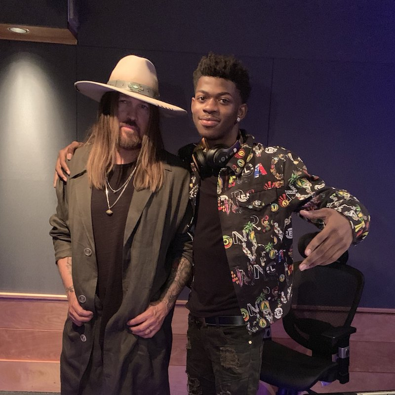 Lil Nas X + Billy Ray Cyrus photo