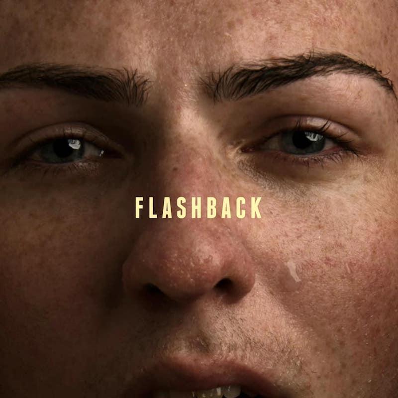 "Mathew V – ""Flashback"" artwork"