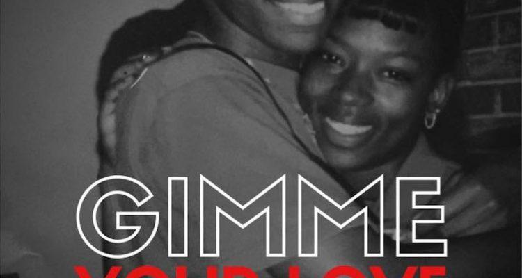 "Mr. Talkbox – ""Gimme Your Love"" artwork"