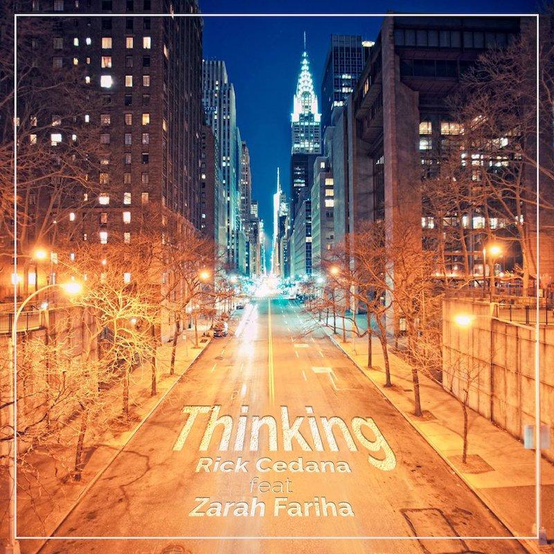 "Rick Cedana – ""Thinking"" artwork"