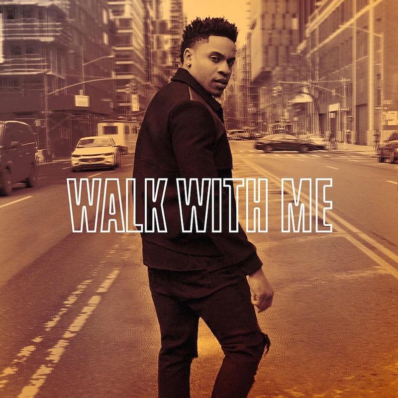"Rotimi - ""Walk With Me"" album artwork"