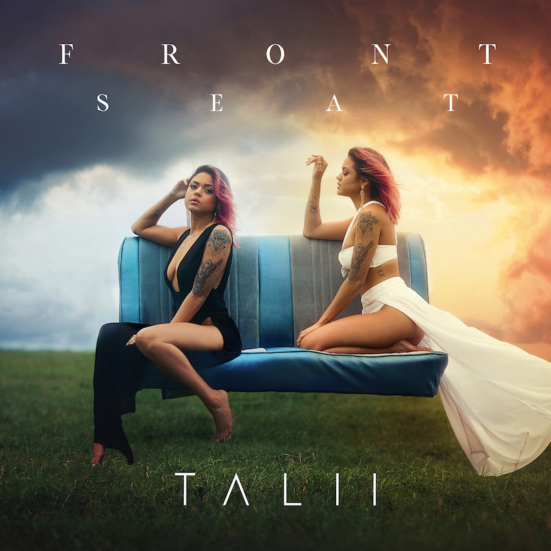 """Talii – """"Front Seat"""" artwork"""