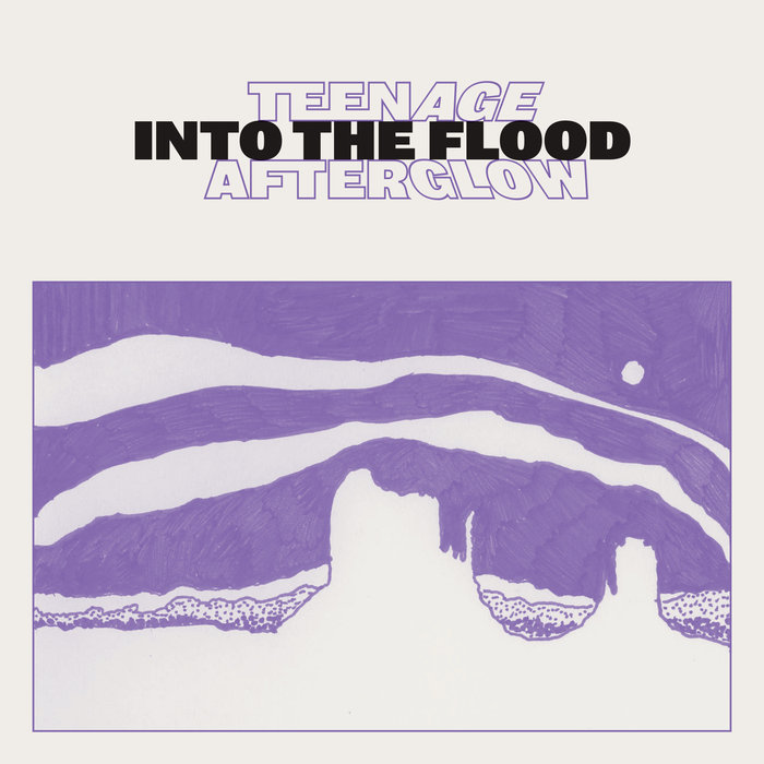 "Teenage Afterglow - ""Into the Flood"" EP artwork"