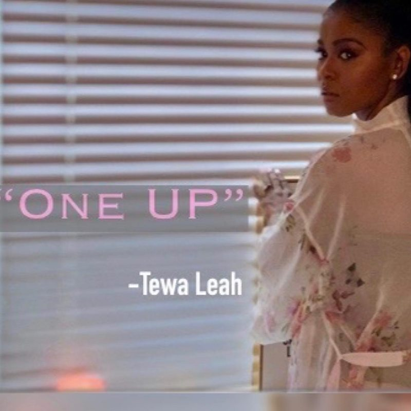 "Tewa Leah – ""One Up"" artwork"