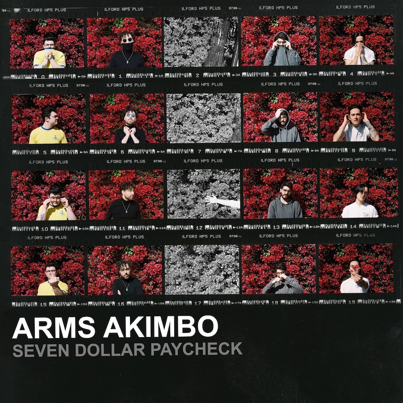 "Arms Akimbo - ""Seven Dollar Paycheck"" cover art"
