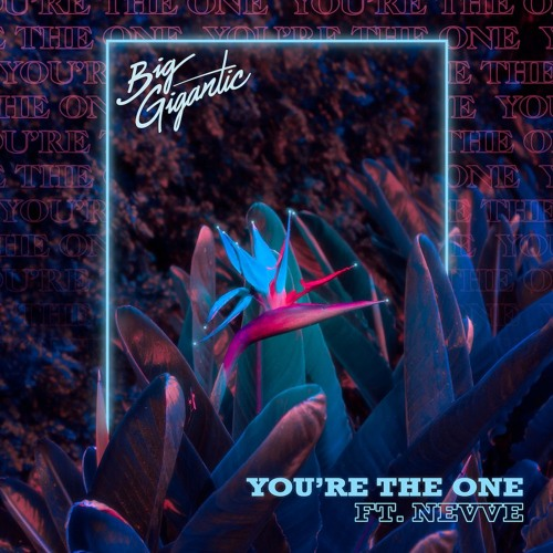 "Big Gigantic – ""You're the One"" cover art"