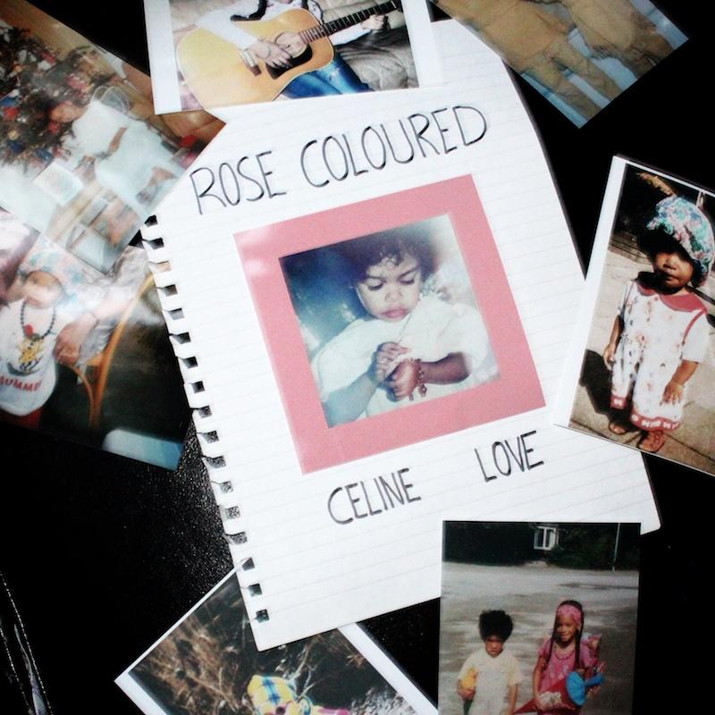 Celine Love + Rose Coloured Artwork
