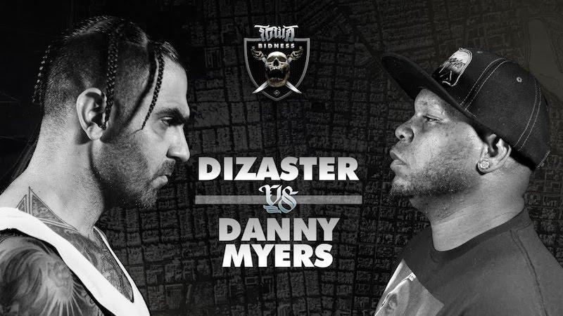 Dizaster versus Danny Myers + KOTD