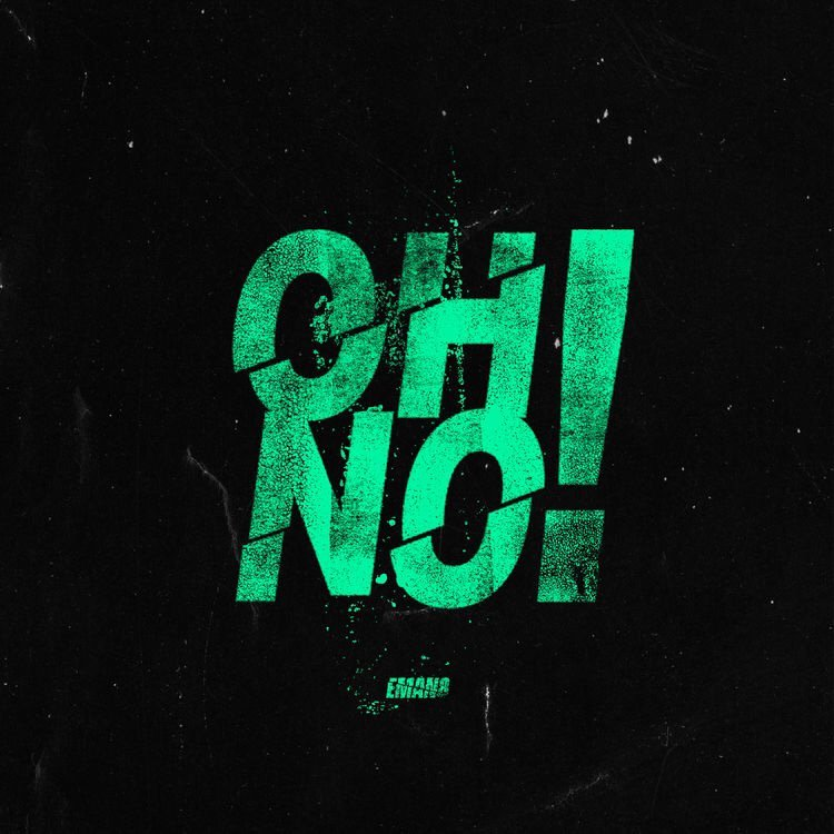 "EMAN8 – ""Oh No!"" cover art"