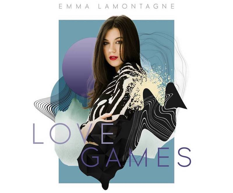 "Emma Lamontagne – ""Love Games"" cover art"