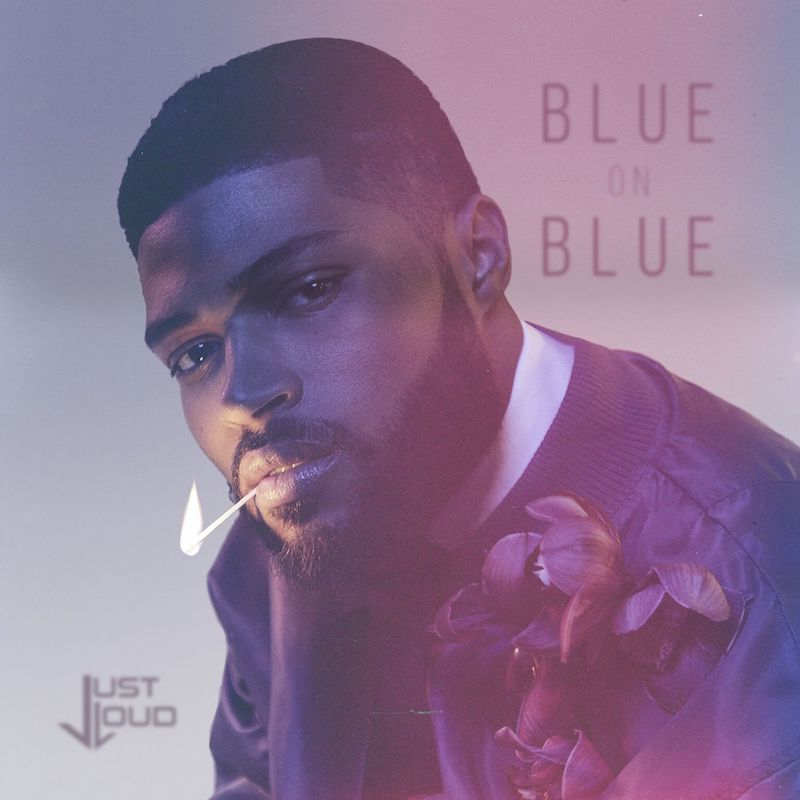 "Just Loud - ""Blue on Blue"" artwork"