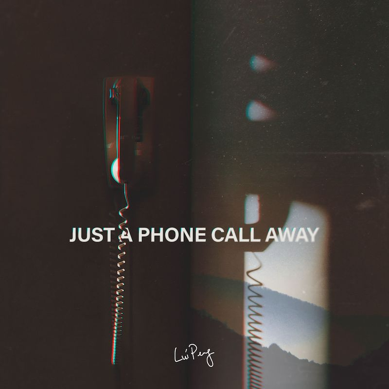 "Lui Peng - ""Just a Phone Call Away"" cover art"