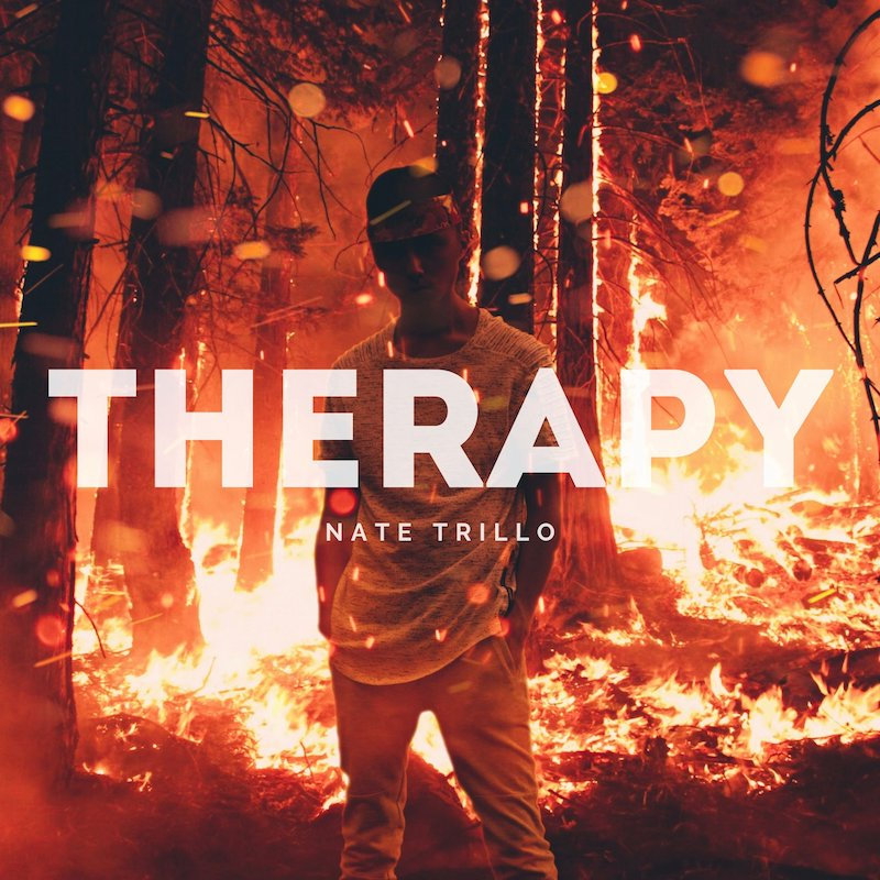 "Nate Trillo – ""Therapy"" cover art"