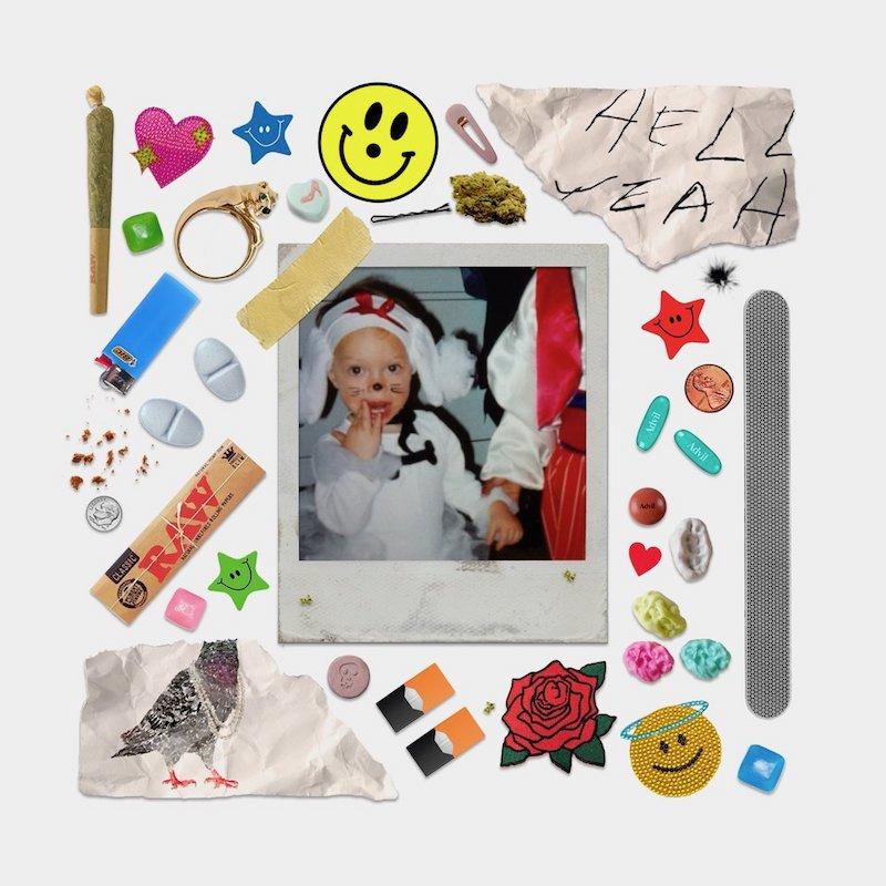 "Raffaella – ""Hell Yeah"" cover art"