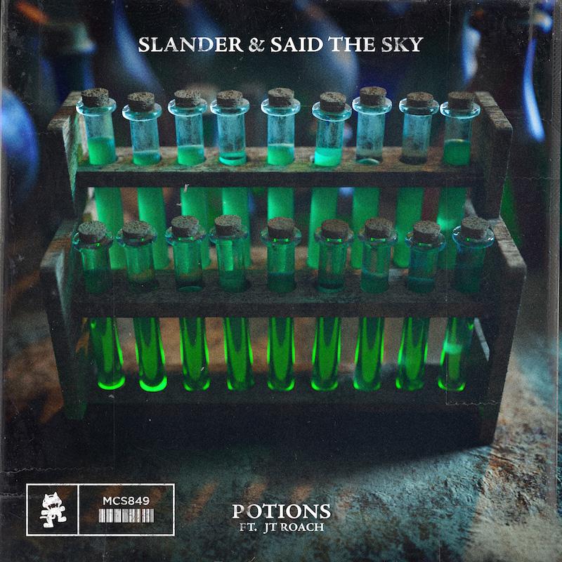 SLANDER & Said The Sky - Potions cover art