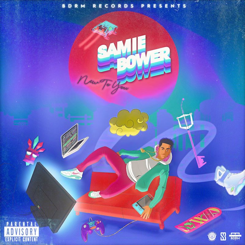 Samie Bower + New to You cover art