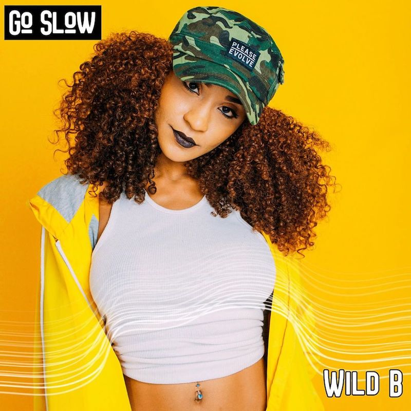 "Wild B - ""Go Slow"" artwork"