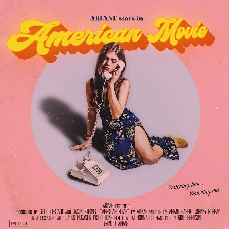 "Ariane - ""American Movie"" cover art"