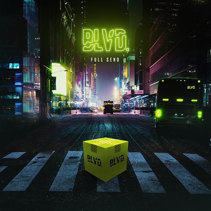 "BLVD. - ""Full Send"" cover art"