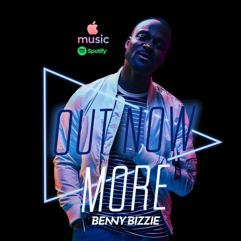"Benny Bizzie – ""More"" cover art"