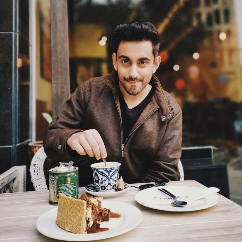 Bilal Khan press photo