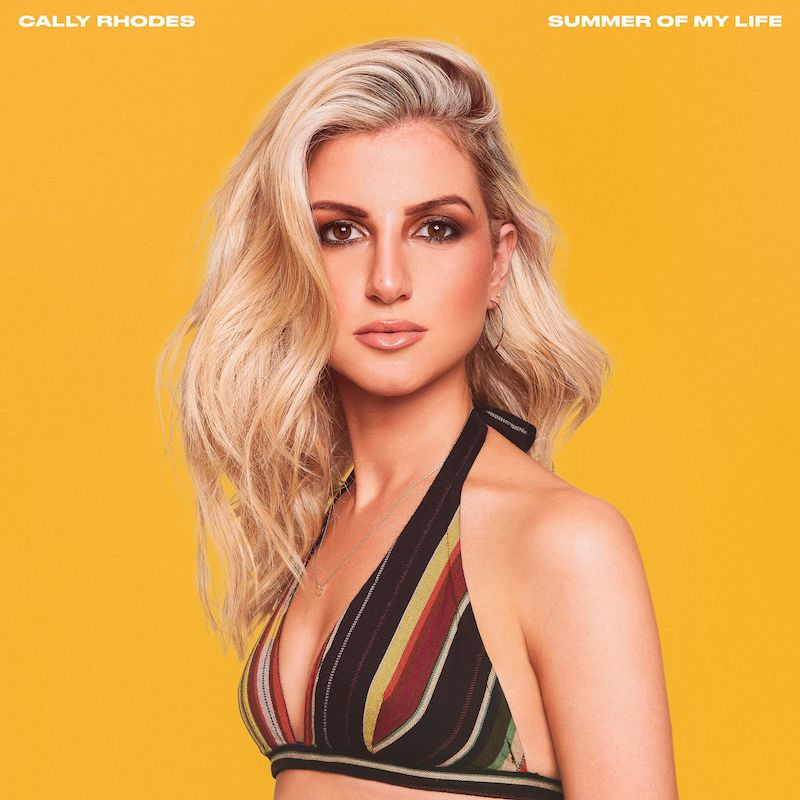 "Cally Rhodes – ""Summer of My Life"" cover art"
