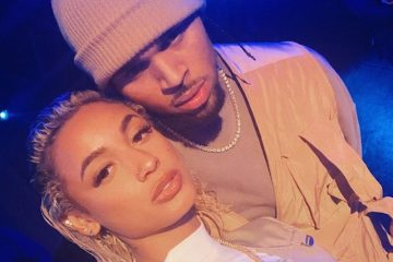 DaniLeigh + Chris Brown photo