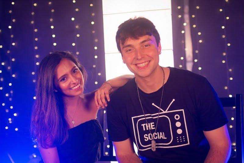 Disha and Wesley - Call You Mine press photo