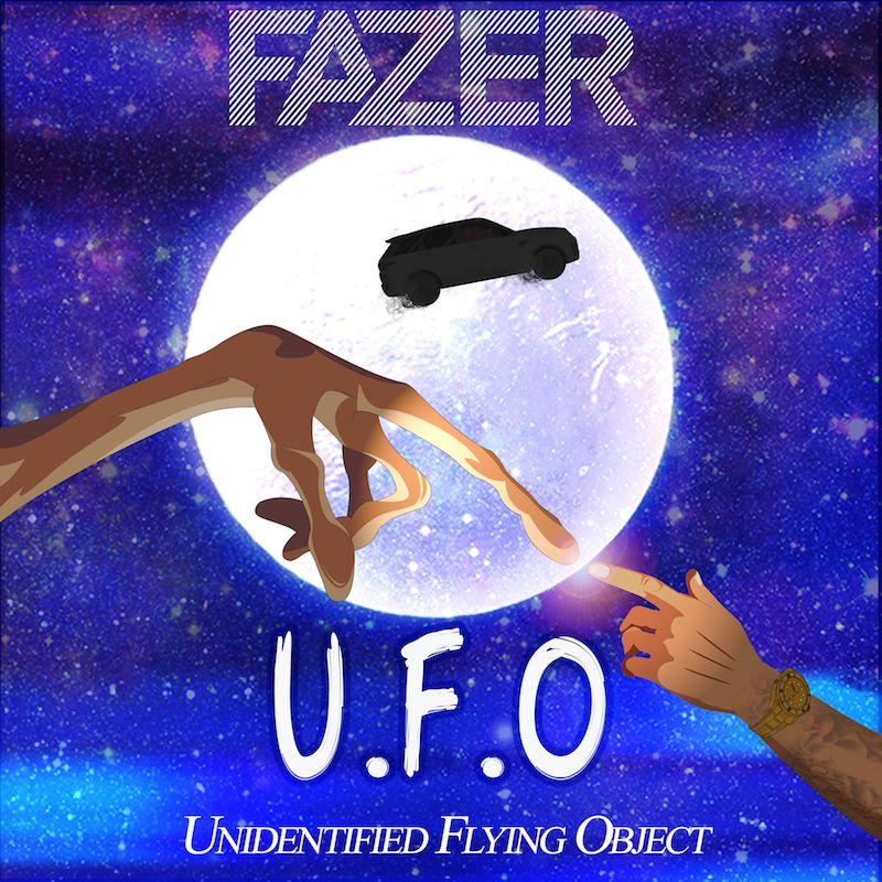 """Fazer - """"UFO"""" cover art"""
