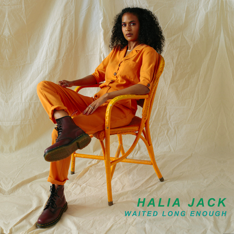 "Halia Jack - ""Waited Long Enough"" cover art"