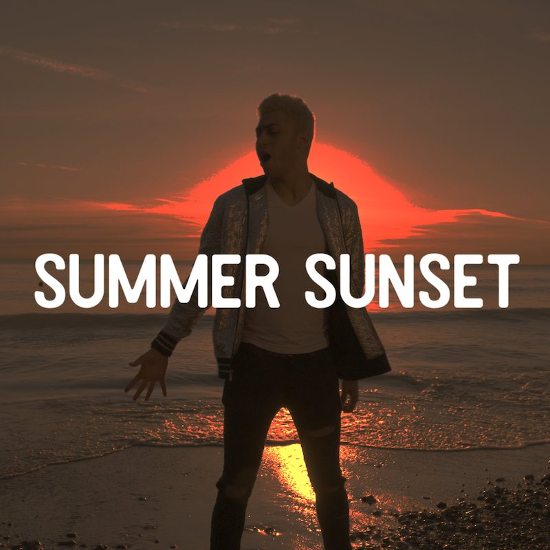 "Izee Maze - ""Summer Sunset"" cover art"