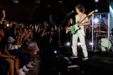 King Princess press photo by Greg Noire courtesy of Apple Music + stage
