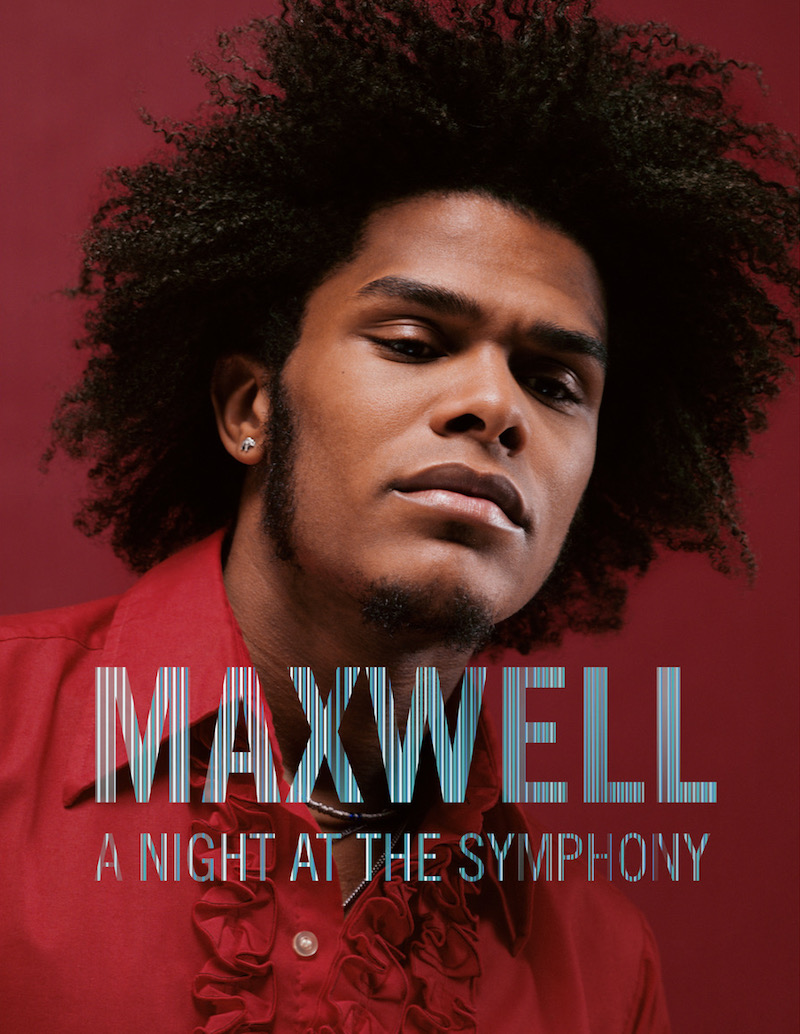 "Maxwell - ""A Night At The Symphony"" photo"