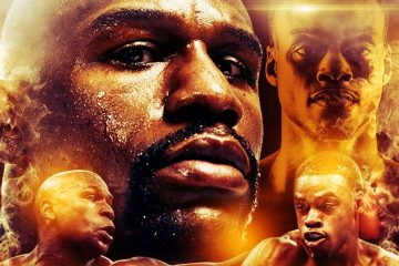 Mayweather Jr. versus Spence by Leroy Brown cropped