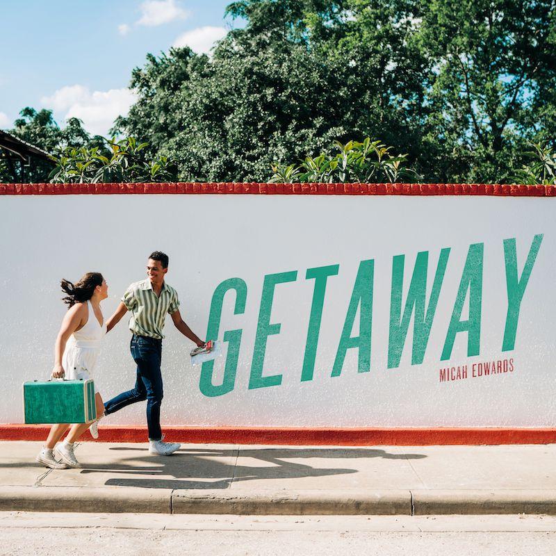 "Micah Edwards - ""Getaway"" cover art"